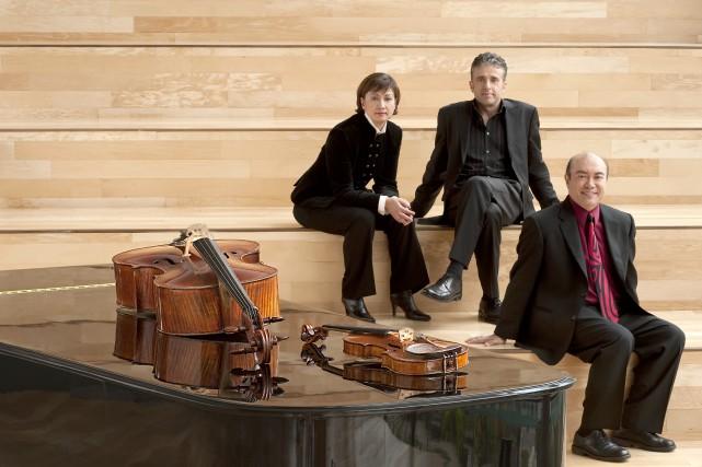 Le Trio Gryphon... (Photo fournie par John Beebe)