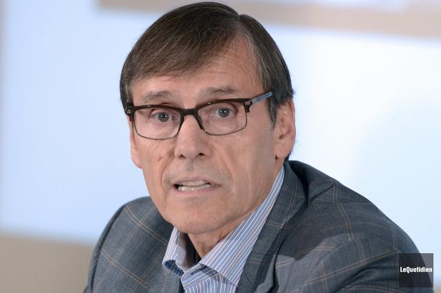 Le président de Produits forestiers Résolu, (PFR), Richard... ((Photo Le Quotidien, Jeannot Lévesque))