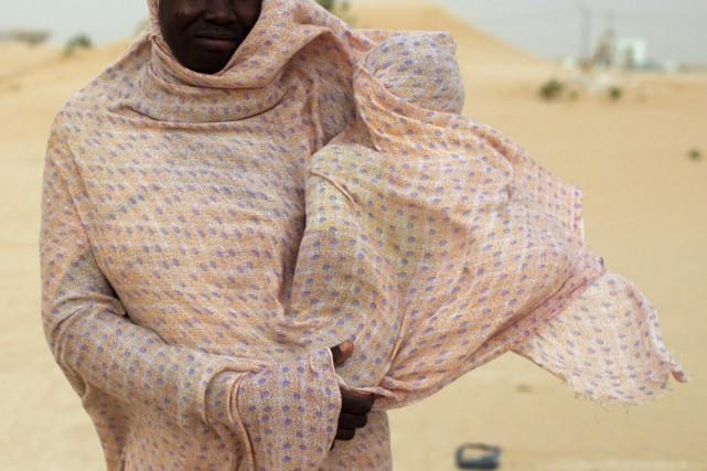 Selon Amnesty International, «en Mauritanie, les descendants d'esclaves... (Photo JOE PENNEY, archives AFP)
