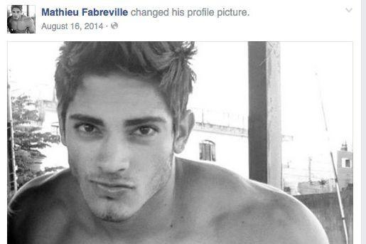 Le faux profil Facebook que l'accusé aurait utilisé...
