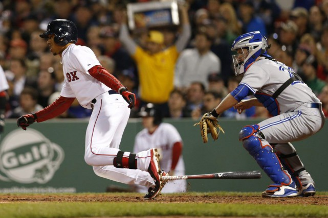 Hanley Ramirez a frappé son 10e circuit de la saison et les Red Sox de Boston... (Photo USA Today Sports)
