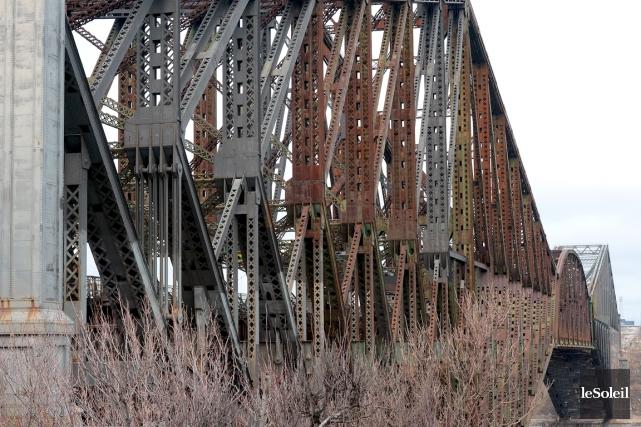 Le pont de Québec... (Le Soleil,  Erick Labbé)