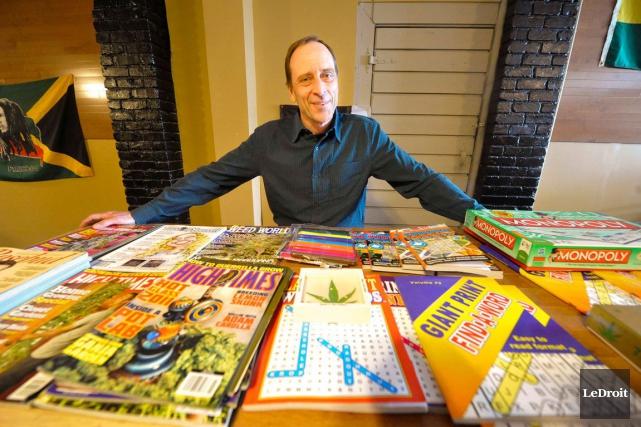 Le propriétaire du Buzz On, Wayne Robillard, concède... (Martin Roy, archives LeDroit)