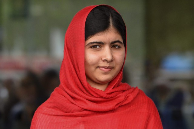 Malala Yousafzaï avait réchappé in extremis en octobre 2012... (PHOTO PAUL ELLIS, ARCHIVES AGENCE FRANCE-PRESSE)