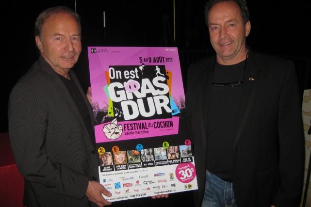 Deux artisans de la première heure du Festival... (Photo: Marc Rochette)