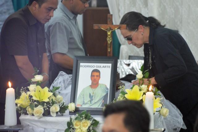 Condamné à mort pour trafic de drogue, Rodrigo... (PHOTO BAY ISMOYO, AFP)