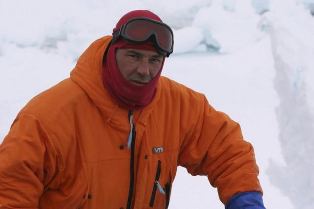 Le réalisateurLuc Jacquet lors du tournage de La... (Photo fournie par Christal films)