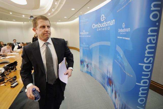 L'ombudsman de l'Ontario, André Marin... (Archives, La Presse Canadienne)