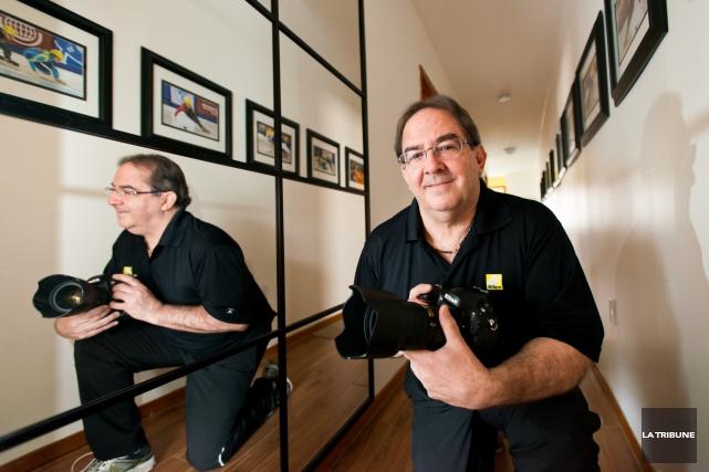 Le Sherbrookois Yves Longpré est passionné de photographie... (IMACOM, JESSICA GARNEAU)