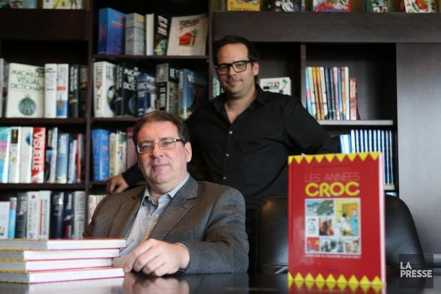 Michel Viau et Jean-Dominic Leduc ont publié en... (Archives, La Presse)