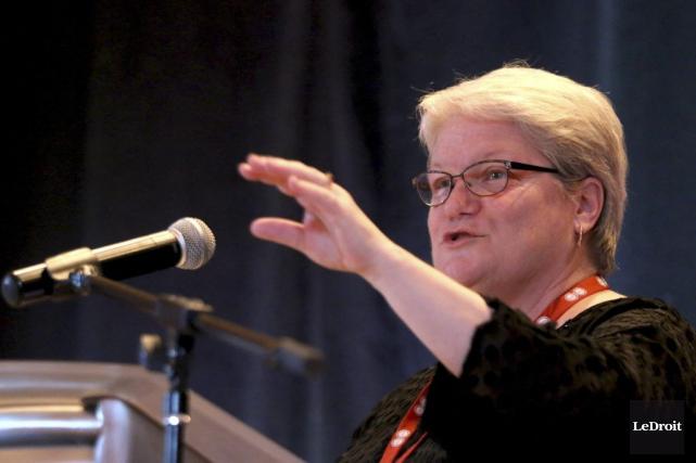 La présidente RobynBenson devrait jouer un rôle prépondérant... (PATRICK WOODBURY, Archives LeDroit)