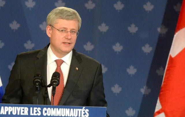 Notre leader canadien, Stephen Harper.... (ARCHIVES LA NOUVELLE)