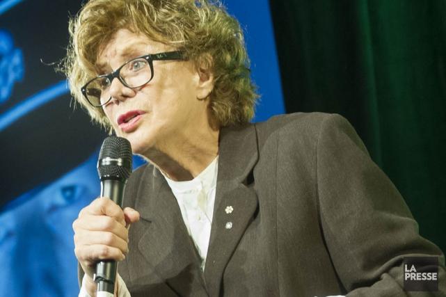 La directrice artistique du Rideau Vert, Denise Filiatrault.... (Photo Olivier Pontbriand, archives La Presse)