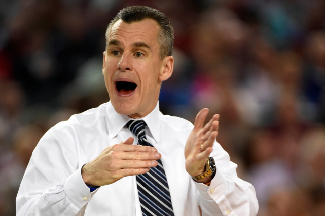 L'entraîneur-chef de l'Université de la Floride, Billy Donovan.... (Photo Robert Deutsch, USA Today)