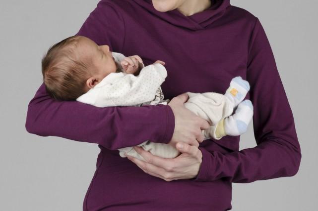 Côté vêtements de maternité et d'allaitement, les griffes... (Photo fournie par MomzElle)