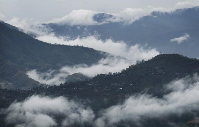 Nicolas Veilleux se trouvait dans les montagnes, en... (Photo AP)