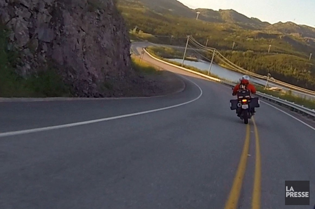 Un motocycliste est décédé à la suite d'une collision est survenue jeudi... (Archives La Presse)