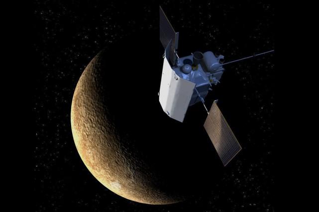 La sonde de la NasaMessengers'est écrasée comme prévu sur Mercure... (Photo AP)