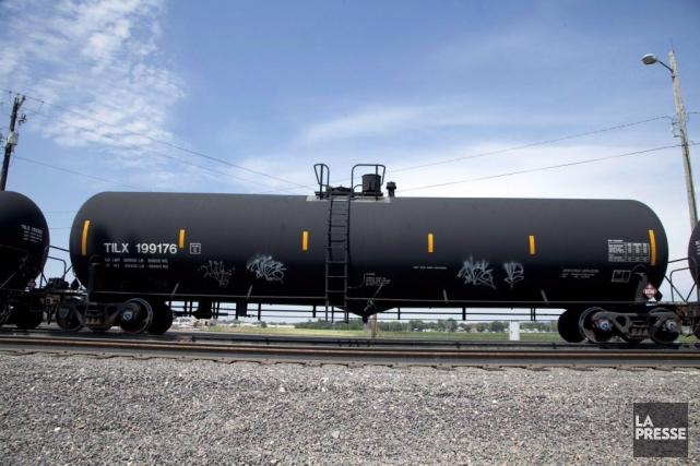 Environ 55 000 wagons de modèle DOT-111 aux... (Photo d'archives)