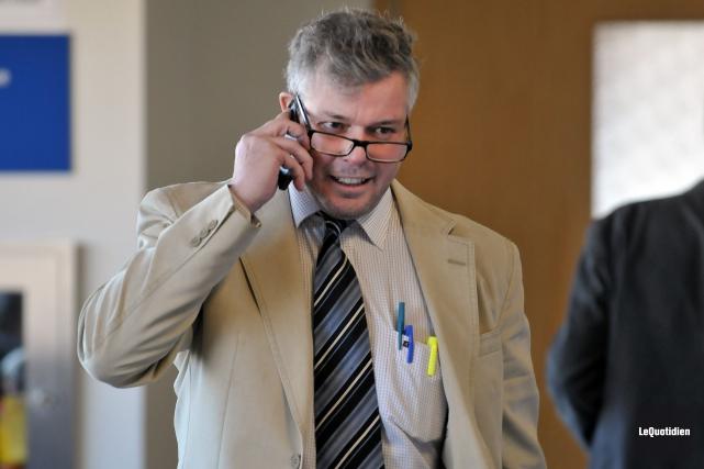 Me Charles Cantin représentait Pierre-Alexandre Fortin.... ((Photo Le Quotidien-Rocket Lavoie))