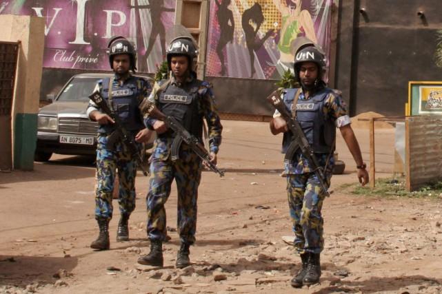 Le nord du Mali est tombé au printemps... (Photo Harouna Traore, archives AP)