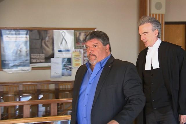Le maire de Baie-Trinité, Denis Lejeune... (Collaboration spéciale Steeve Paradis)