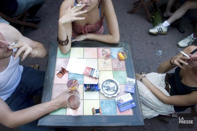 L'ancienne Loi sur le tabac deviendra Loi concernant... (PHOTO ARCHIVES LA PRESSE)