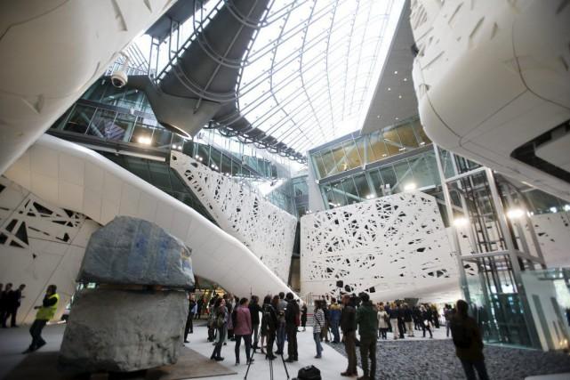 Le pavillon de l'Italie àl'Exposition universelle de Milan,... (PHOTO ALESSANDRO GAROFALO, REUTERS)