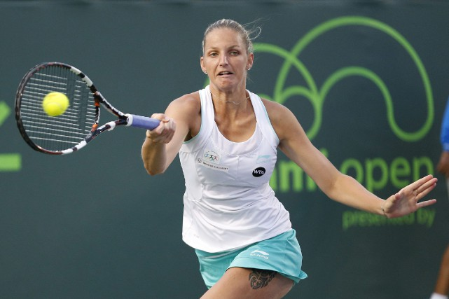 Karolina Pliskova... (PHOTO ARCHIVES AP)