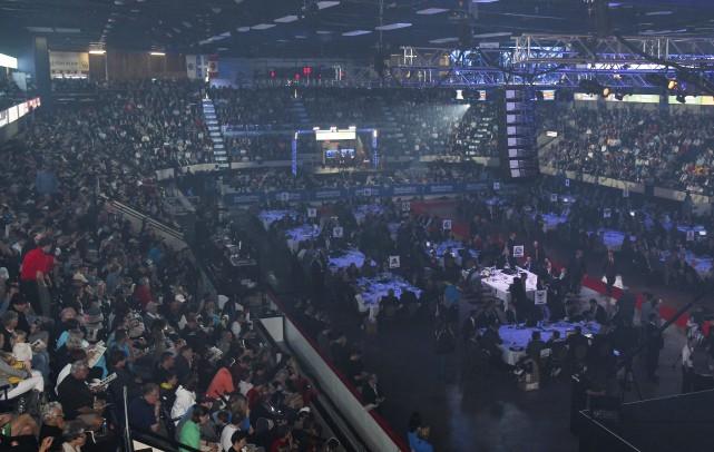 C'est plus de 1000 nuitées qui ont été réservées par les 18 équipes du circuit... (Photo fournie)