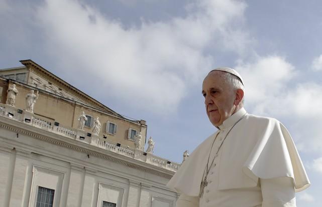 Le pape François publiera cet été une encyclique... (PHOTO MAX ROSSI, REUTERS)