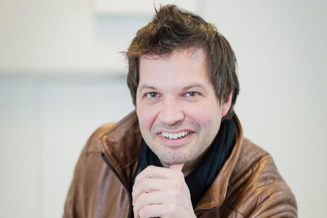 Sylvain Parent-Bédard, patron du Grand Rire de Québec.... (PHOTO EDOUARD PLANTE-FRÉCHETTE, LA PRESSE)