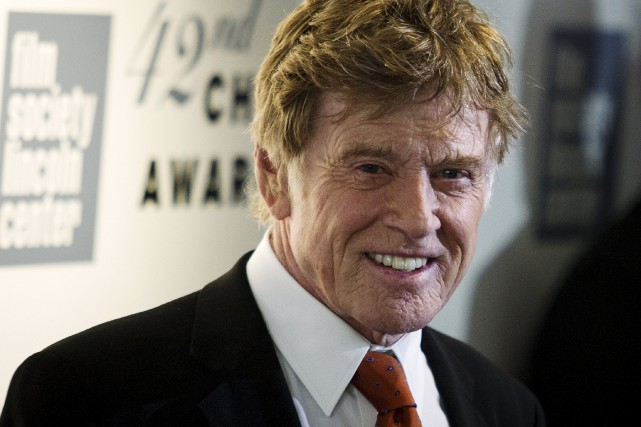 Robert Redford à son arrivée au Alice Tully... (Photo Eduardo Munoz, Reuters)