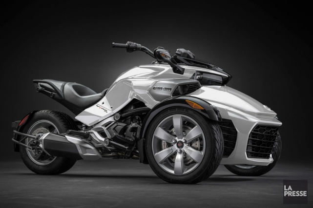 Le Can-Am Spyder F3 S 2015... (Archives La Presse)