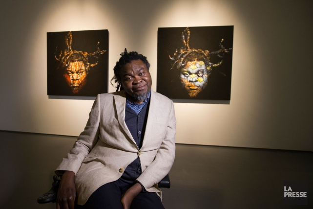 L'artiste Yinka Shonibare MBE cultive les paradoxes et l'ironie... (PHOTO IVANOH DEMERS, LA PRESSE)