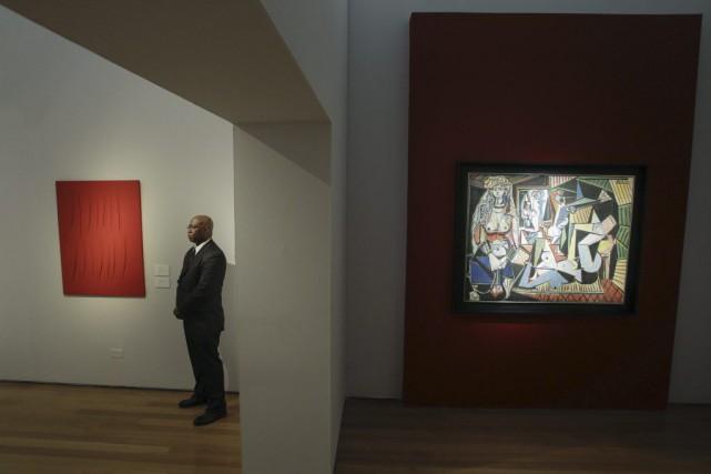 Les Femmes d'Alger(version O) de Pablo Picasso pourrait... (PHOTO EDUARDO MUNOZ ALVAREZ, AFP)