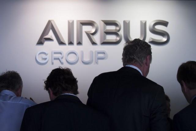 Airbus Group a confirmé ses perspectives annuelles après un bond de 42% de son... (PHOTO JOHANNES EISELE, ARCHIVES AFP)