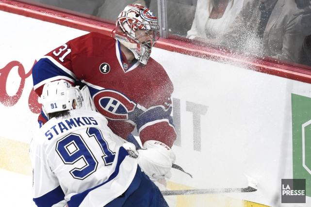 Relisez notre couverture du premier match de la série entre le Canadien et le... (Photo Bernard Brault, La Presse)