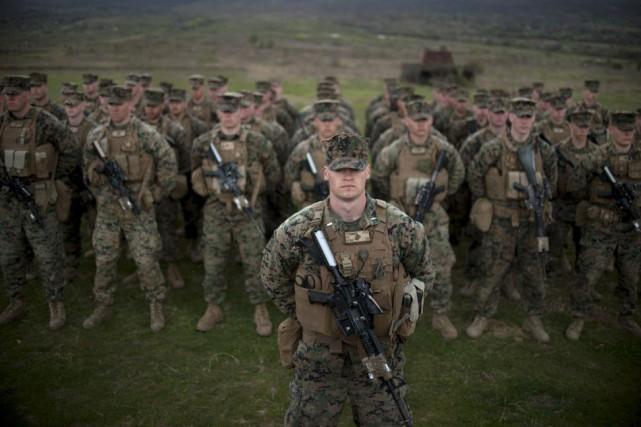 Selon le rapport du Pentagone, 57% des victimes... (Photo NIKOLAY DOYCHINOV, AFP)