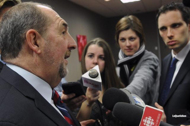 Le député de Roberval-Lac-Saint-Jean, Denis Lebel, a confirmé... ((Photo Le Quotidien, Michel Tremblay))