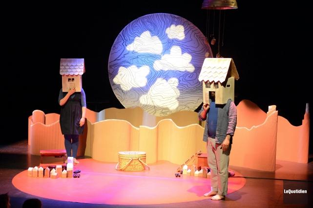 Là où j'habite, une production qui s'adresse à... ((Photo Le Quotidien, Jeannot Lévesque))