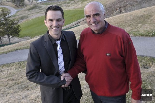 Les membres du Club de golf Arvida Saguenay... ((Photo Le Quotidien-Rocket Lavoie))