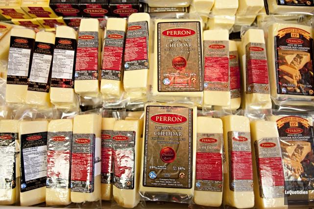 La fromagerie Perron ne changera pas de propriétaire.... ((Archives Le Quotidien))