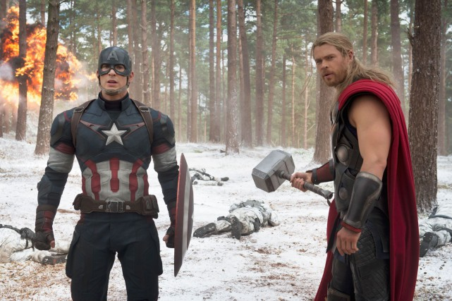 Avengers : Age of Ultronest sorti en salles... (Photo fournier par Media Films)