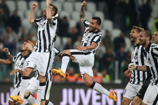 La Juventus de Turin a remporté un 31e titre de championne d'Italie,... (PHOTO MARCO BERTORELLO, AFP)
