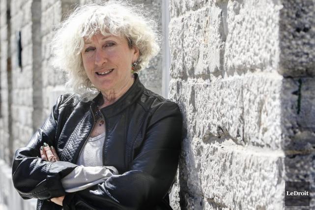 L'écrivaine Monique Proulx... (Patrick Woodbury, LeDroit)