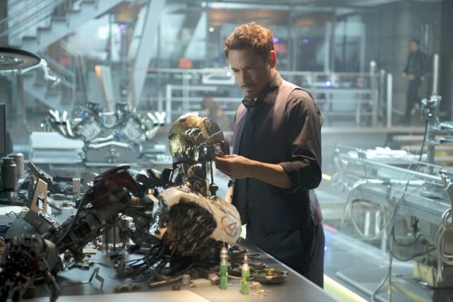 Tel un professeur Frankenstein, Tony Stark (Robert Downey... (Photo fournie par Walt Disney pictures)