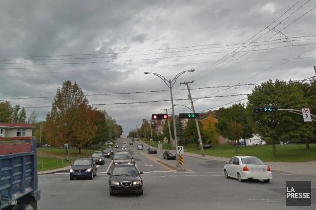 Un chantier s'étirera sur six semaines sur le... (Capture d'écran, Google Street View)