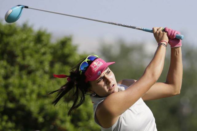 Lexi Thompson... (PHOTO LM OTERO, AP)
