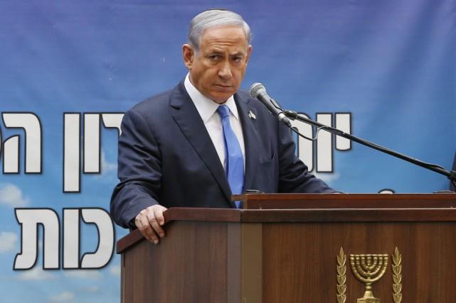 Le premier ministre israélien, Benjamin Netanyahu.... (Photo Ammar Awad, archives AP)